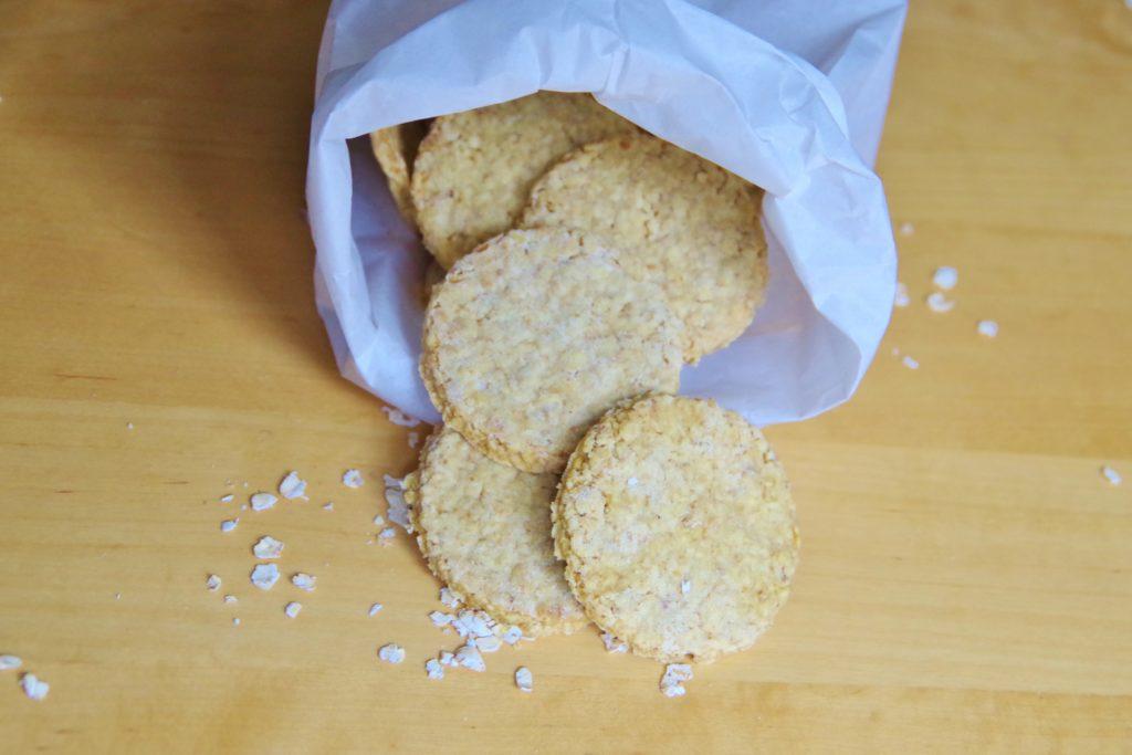 Haferkekse ohne Zucker vegan