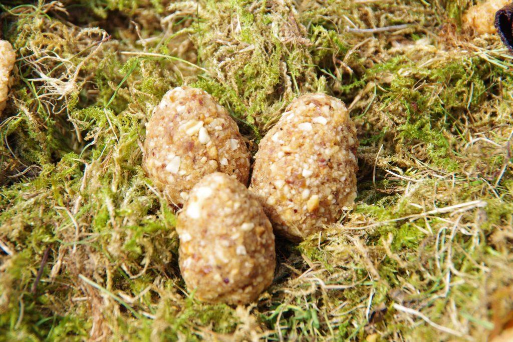 Haselnuss Ostereier vegan ohne Zucker