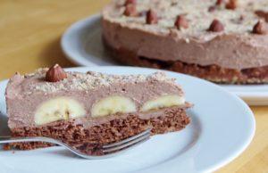 Schoko-Bananen-Haselnuss-Torte