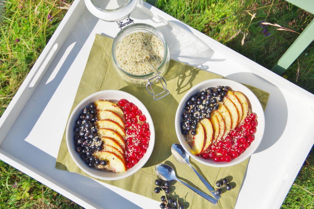 Reismelde Quinoa Brei vegan zuckerfrei