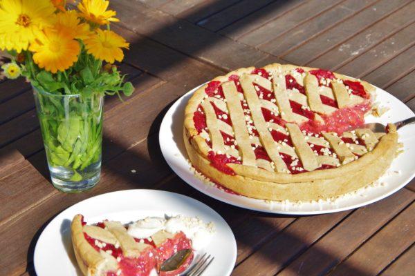 Zwetschgenkuchen vegan zuckerfrei