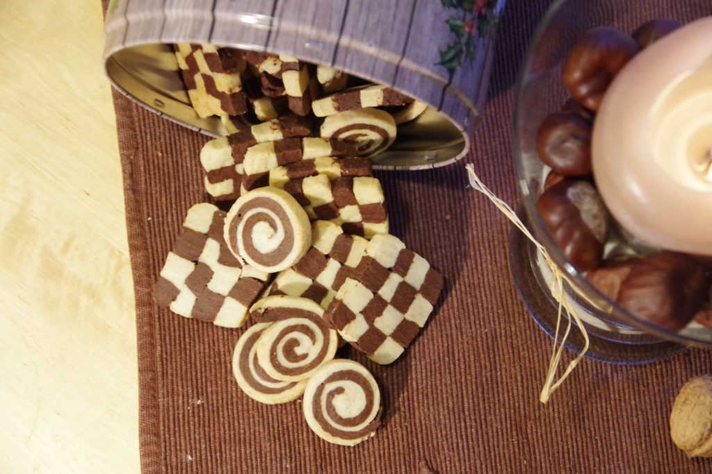 vegan und zuckerfrei Backen Advent